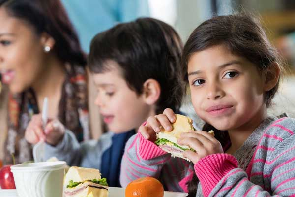 Healthy lunch for your kids