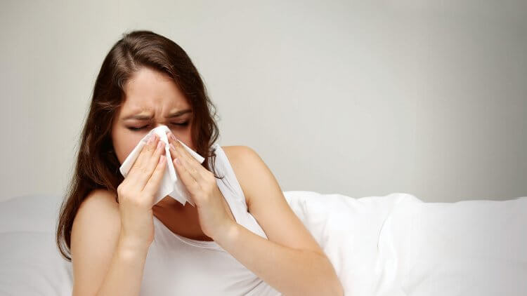 Natural remedies for dry and productive flu-cough
