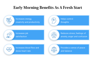 Early Morning Benefits As a Fresh Start